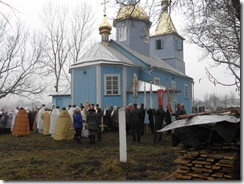 Престольне свято у селі Дерно. Храм в Дерно