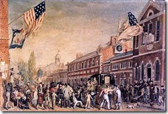 John Lewis Krimmel (German-born American artist, 1786-1821) Philadelphia Election Day 1815