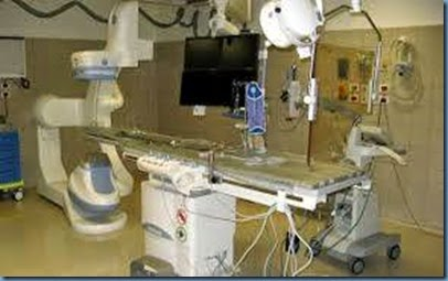 X-Ray system at Wellington  Hospital Catheter Lab