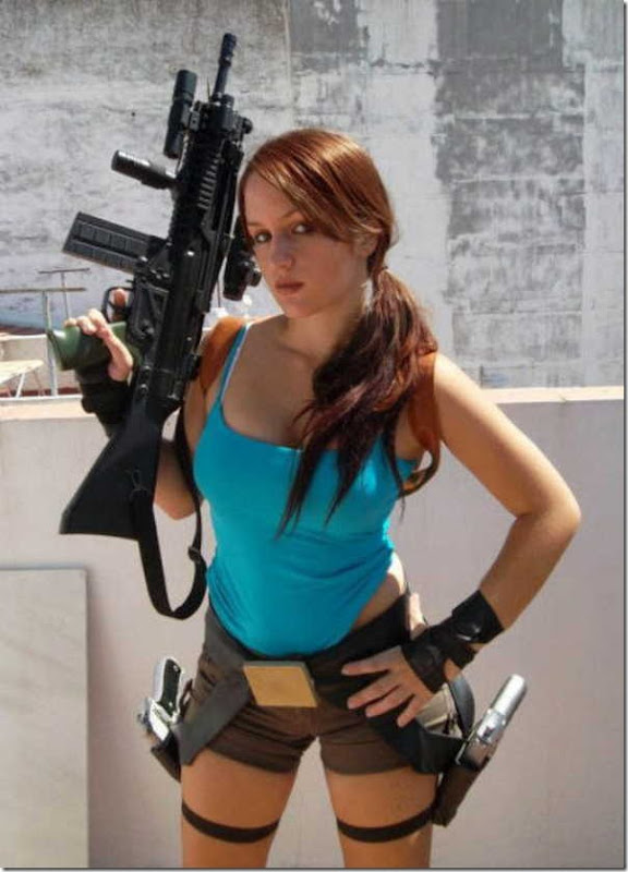 Os melhores cosplays de Lara Croft 23