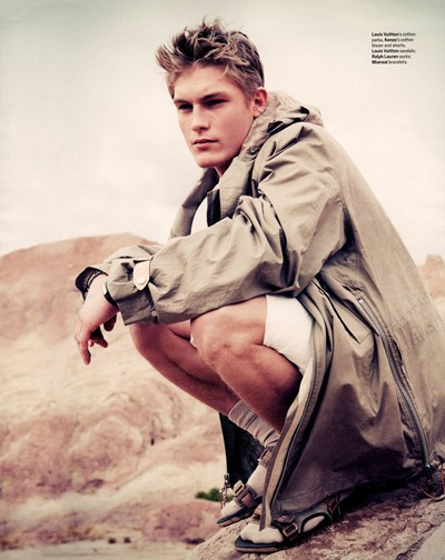 Harry Goodwins @ Models1/Ford by Dean Isidro for Menswear, January 2012. Styled by Alex Badia.