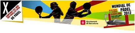 Mundial Padel Barcelona banner