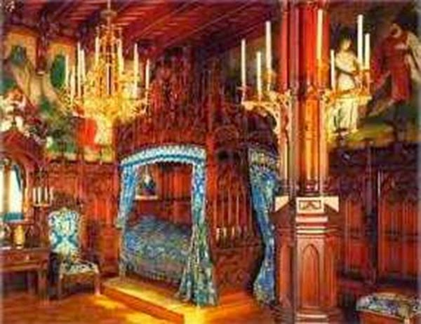 Dormitorio de Luis II