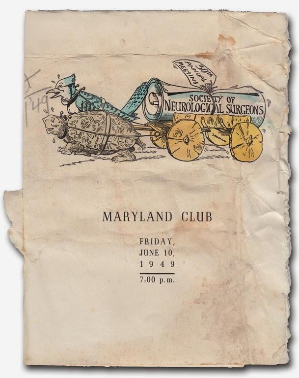 menu cover 1949