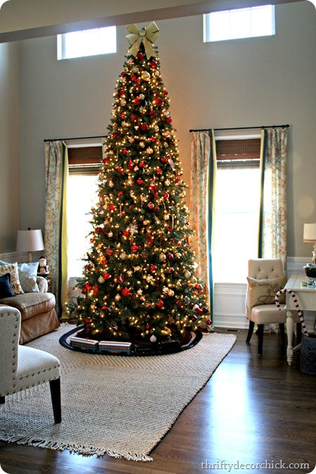 tall christmas tree