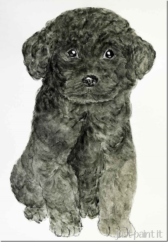 Poodle-Painting-F