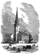 The Old South Meeting-House in Boston