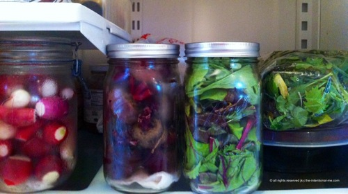 Fridge jars