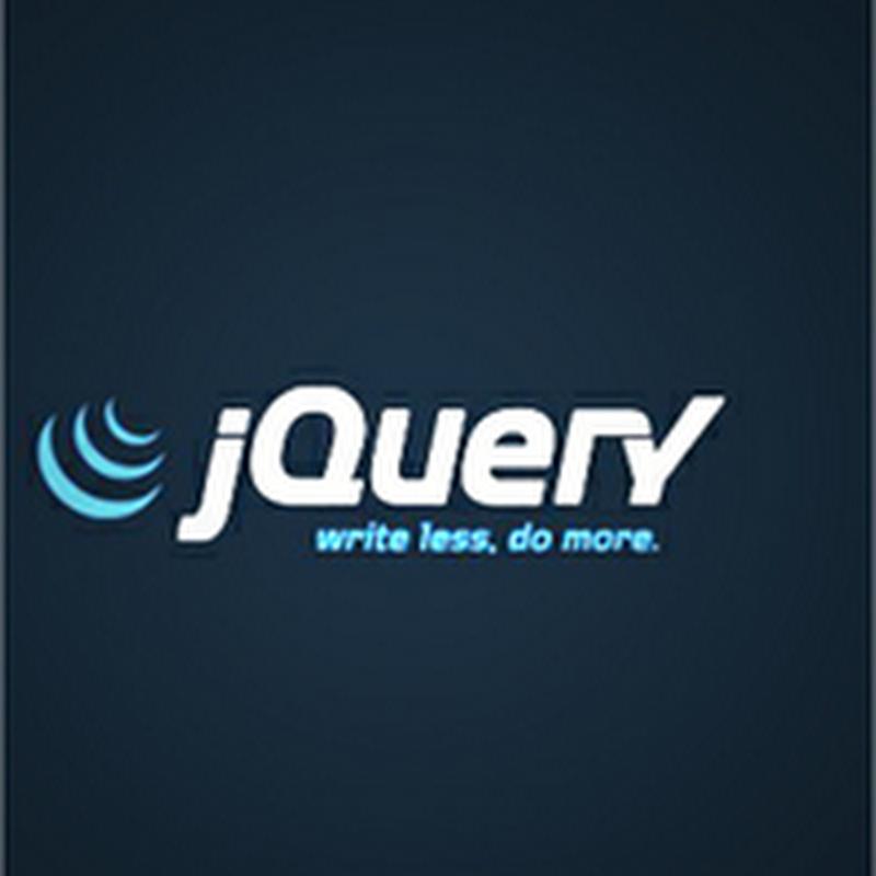 Tutoriales para aprender a programar con jQuery