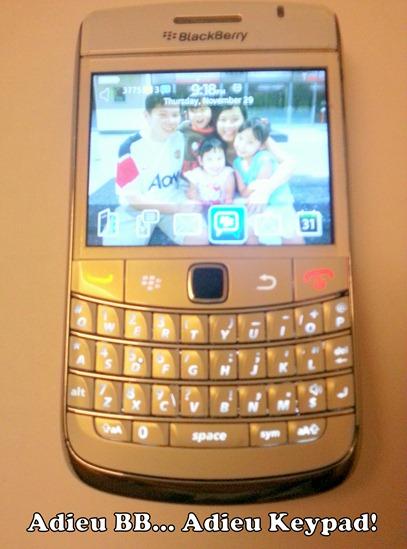Bye Bye Blackberry