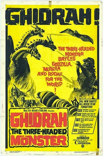 Ghidrah The Three Headed Monster (Godzilla)