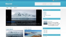 Blucent blogger template 225x128