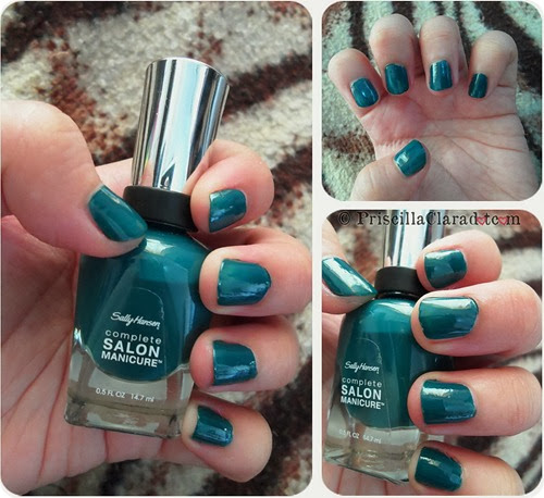 Priscilla Clara beauty blogger review Sally Hansen nail polish_1