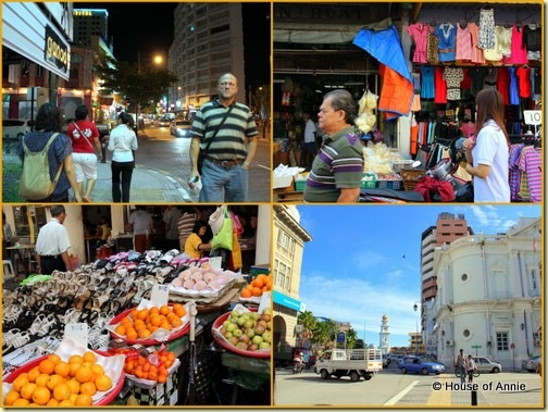 Bustling Georgetown Penang Streets