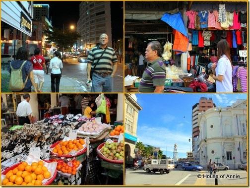 Bustling Georgetown Penang Streets