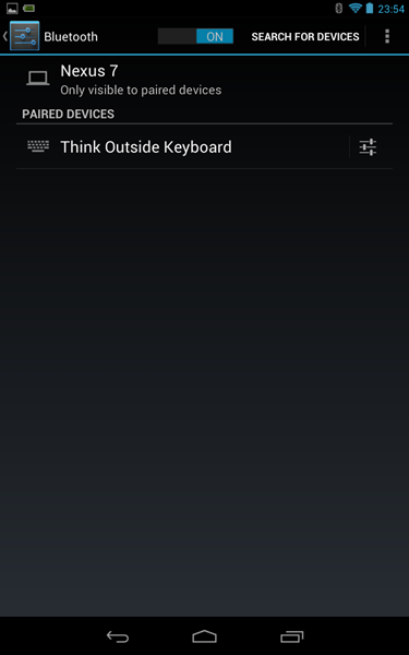 keyboardBluetooth