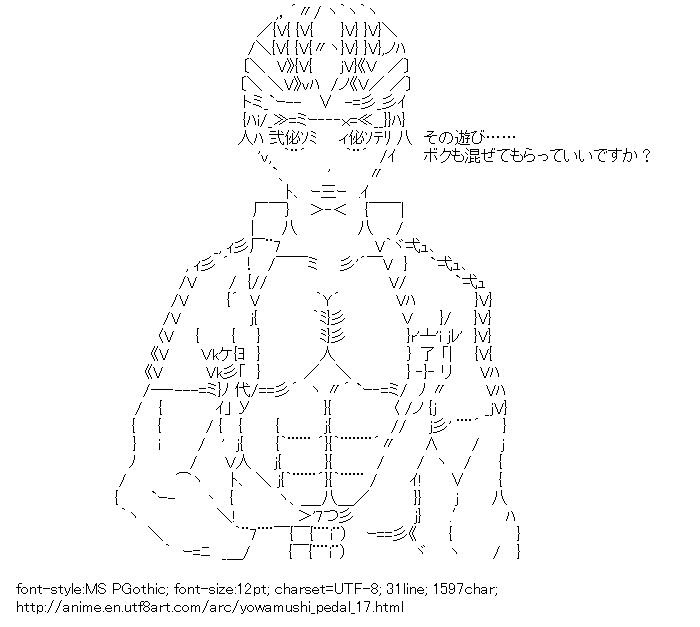 Yowamushi Pedal,Izumida Touichiro