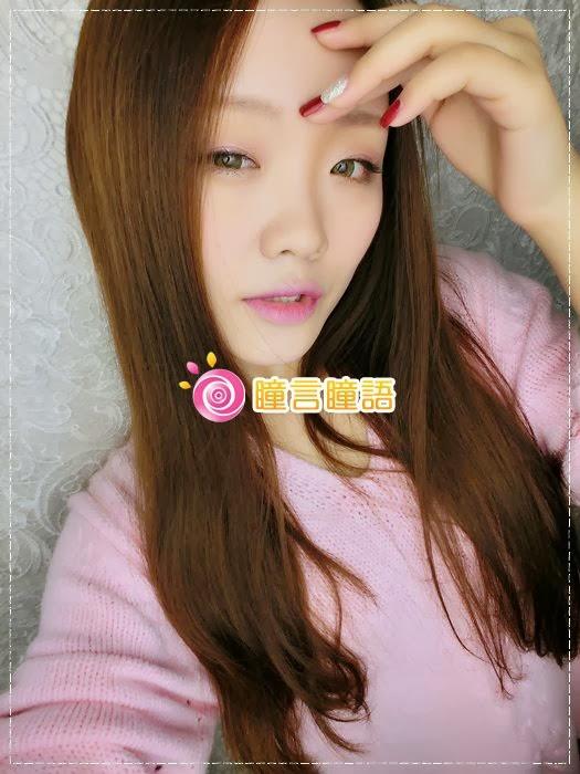 韓國GEO隱形眼鏡-GEO Sparkling 火花四色綠綠色美瞳009