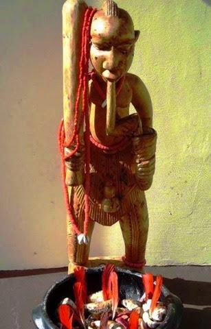 xango o criador e fundador do culto a Egungun (os espiritos)