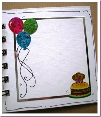 Bind It All Birthday Book 8