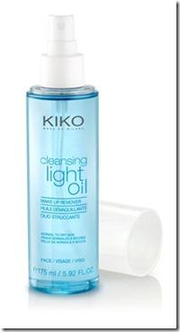 aceite desmaquillante kiko