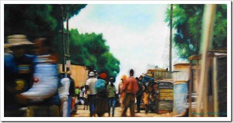 Township Tango painting