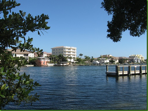 Siesta Key intercostal water