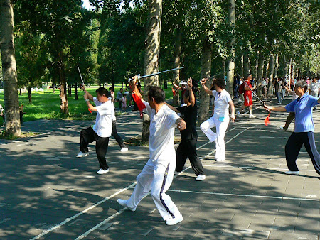 Bejing city: Swordsman in Heaven Park