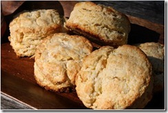 Scottish Scones w Lemon & ginger
