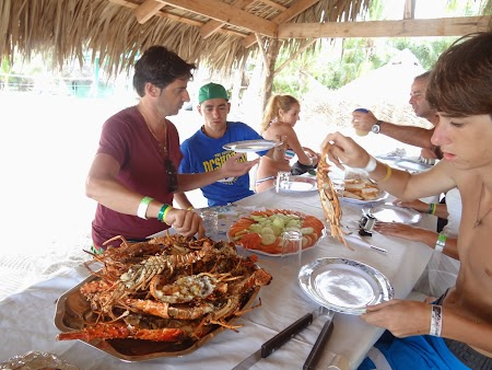 Republica Dominicana: Pranz Captain Gringo