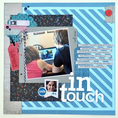 in touch layout