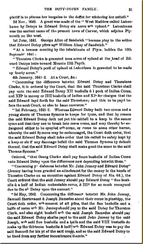 Doty-Doten Family In America - The Family of Edward Doty (16)