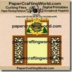 tri fold card ppr-cf-200