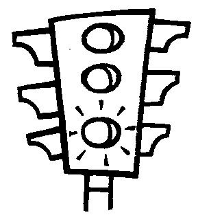 Traffic lights coloring for Traffic light signs coloring pages