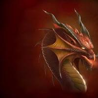 ojos dragon rojo