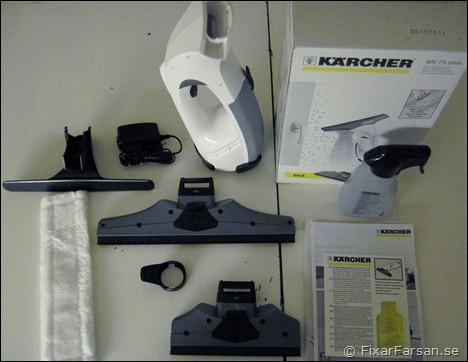 Kärcher-Fönstertvätt-WV-75-Plus-innehåll