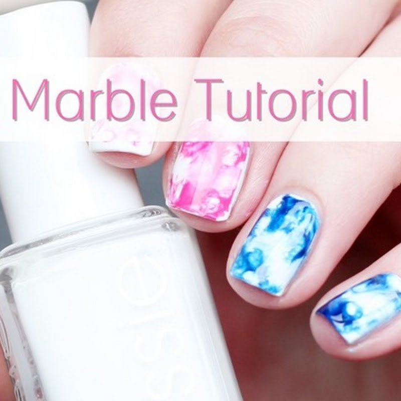 [Video Tutorial] Dry Marble Nails