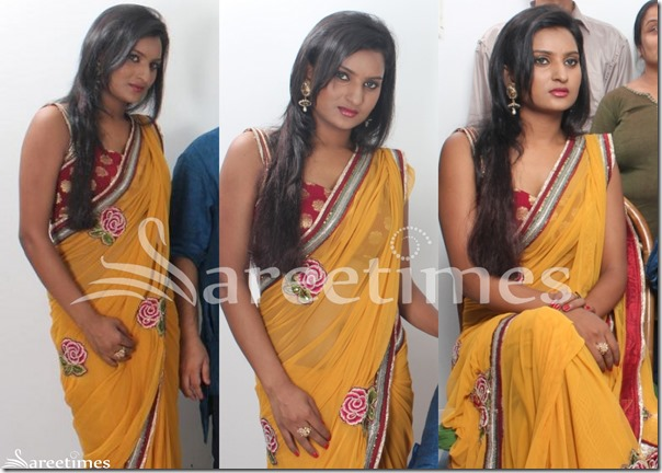 Reshmi_Ghosh_Yellow_Saree