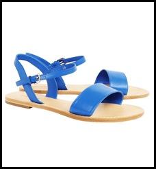 cobalt sandals