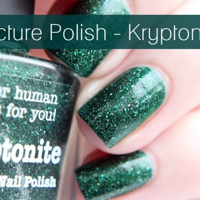 [Swatch] Picture Polish–Kryptonite