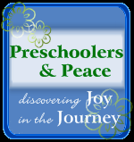 preschoolers and peace button