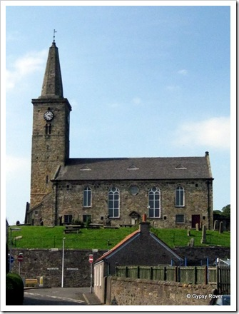 The remaining church in Markinch.