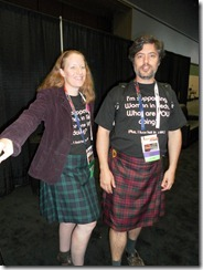 Jean & Sean Showing off their SQLKilts