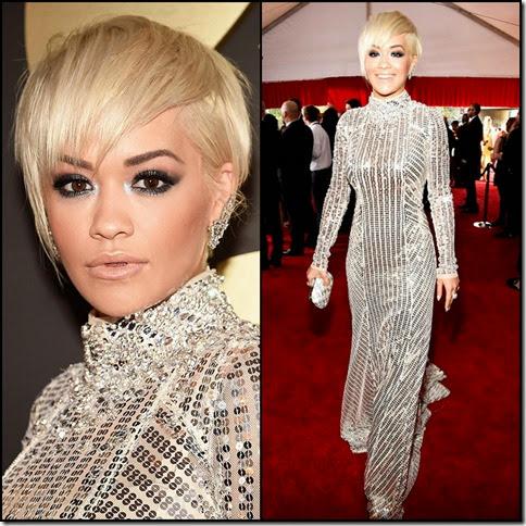 Rita Ora 57th Grammy