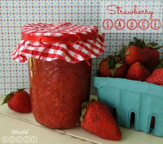 Strawberry Sauce 2