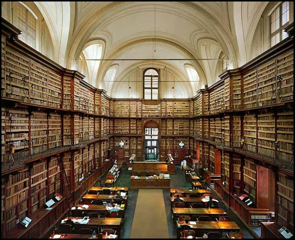 Biblioteca Angelica, Rome, Italie