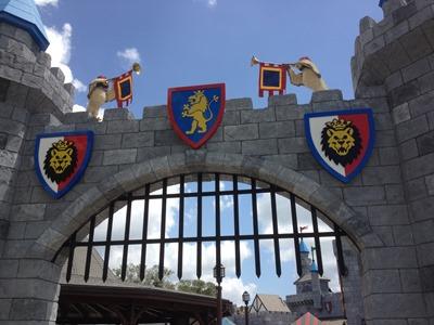 Entering Lego Kingdoms