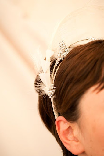 The final headpiece. Photo by Gia Canali.