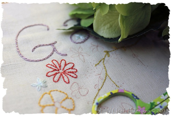 Garden stitchery 3