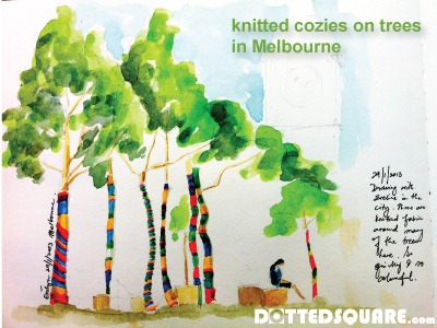 Knitted-Cozies-on-Trees